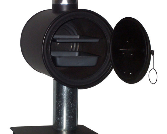 """Cylinder Stoves - Chimney Oven - Available with 5"""" or 6"""" stove pipe holes"""