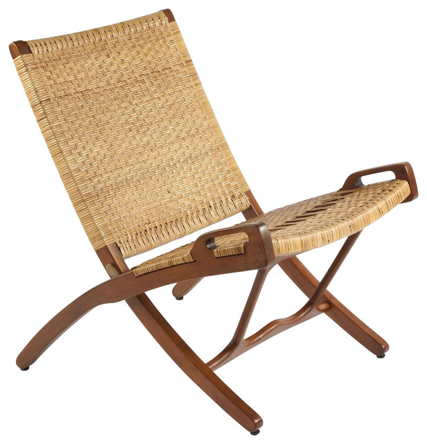 Stilnovo Vilhelm Rattan Folding Chair Eclectic Folding Chairs And Stools