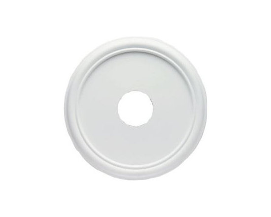 Westinghouse 16 in. Smooth Ceiling Medallion-7773200 at The Home Depot -