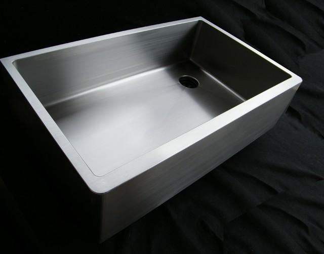 UltraClean Seamless Sinks - Offset Drain - Kentucky Rain - Modern - Kitchen Sinks - cincinnati ...
