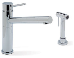 Blanco Blanco Alta One Handle Kitchen Faucet modern kitchen faucets