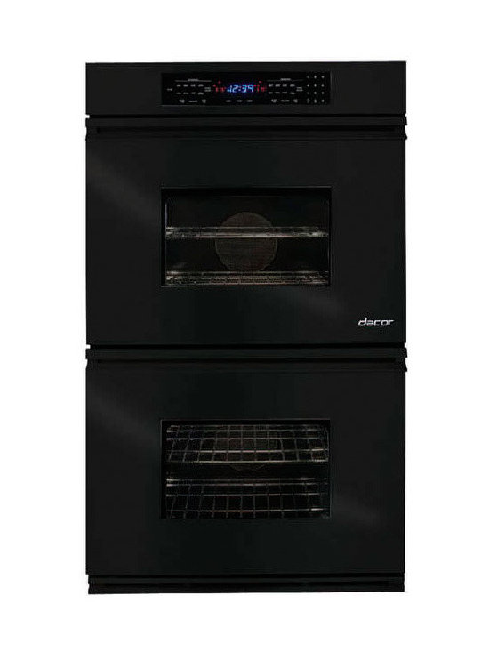 """Dacor Classic Millennia 27"""" Double Wall Oven, Black 