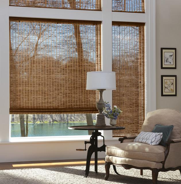 Hunter Douglas Provenance Woven Wood Shades Contemporary