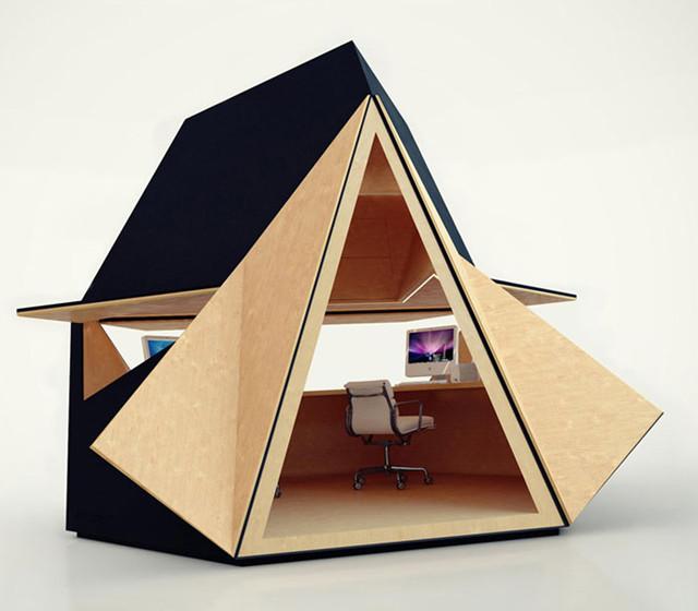 Tetra Shed contemporary-prefab-studios