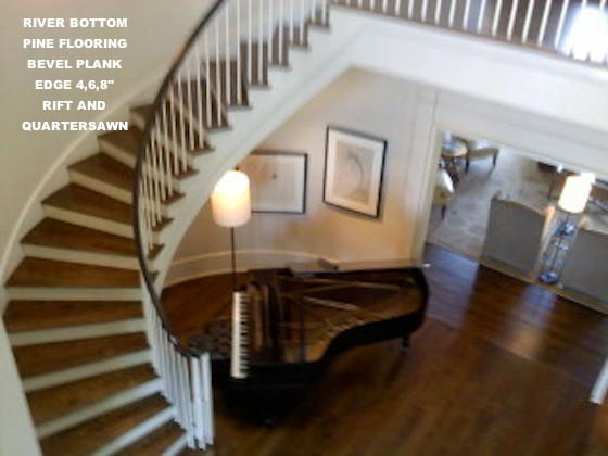 Created By River Bottom Pine Flooring eclectic