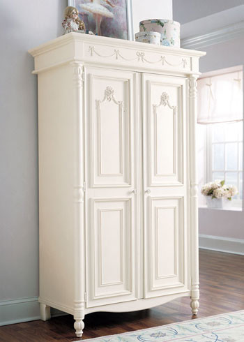 Stanley Young America Isabella Armoire with 2 Doors traditional-kids-dressers