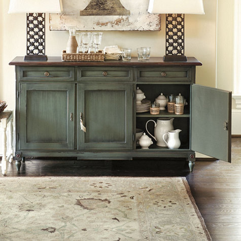 Louis XVI 63 inch Sideboard Traditional Buffets And