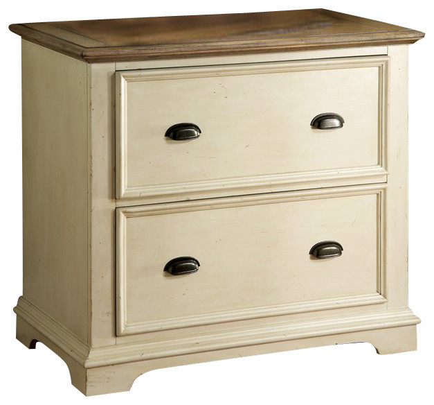 Riverside Furniture Coventry Lateral File Cabinet in Dover White - Traditional - Filing Cabinets ...