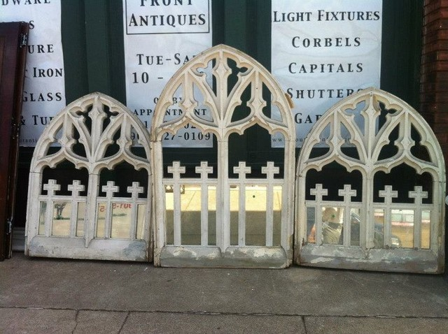 Arch window salvage traditional-windows