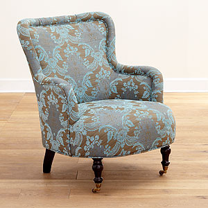 Reading chair traditional armchairs and accent chairs for Bedroom reading chair