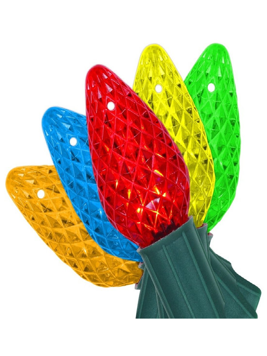Home Accents Holiday 50 LED C9 Lights Multi-Colour -