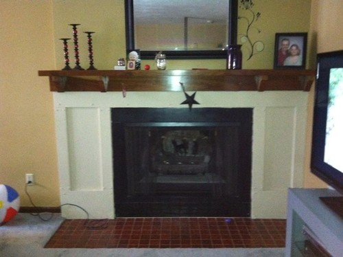 Non Working Decorative Fireplace