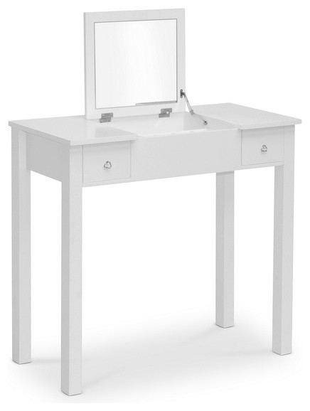 white wessex vanity table contemporary bedroom makeup vanities
