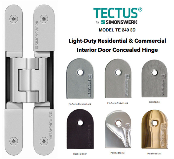 TECTUS Concealed hinges by Simonswerk - Modern - Home Improvement - new york - by AFFurniture ...