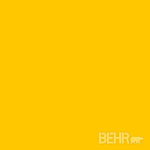 Behr Paint Color Yellow Flash 370b 7 Modern Paint And