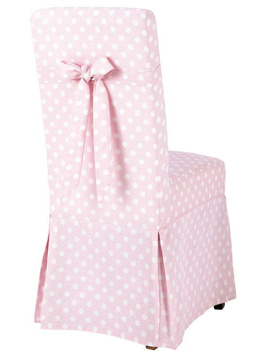 Margaux Polka-dot chair cover -
