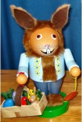 2012 Steinbach Signed Troll Easter Bunny Rabbit German Nutcracker modern-holiday-decorations