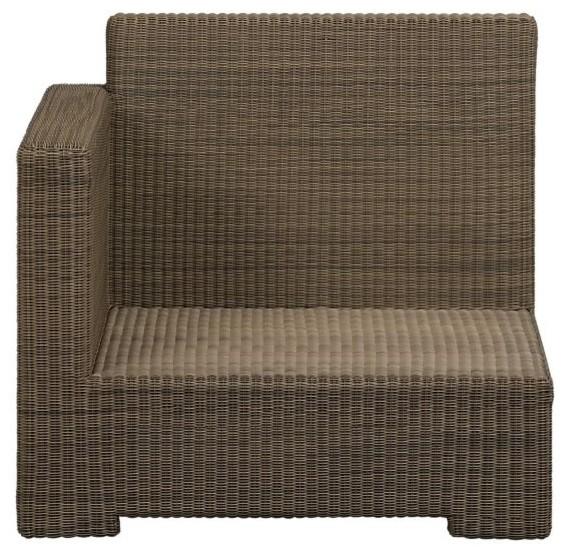 Sanibel Modular Left Arm Chair modern-outdoor-lounge-chairs