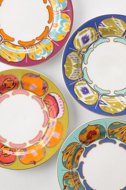 Kamala Dessert Plates eclectic dinnerware