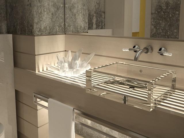 NEMCHINOVKA Bathroom contemporary-rendering