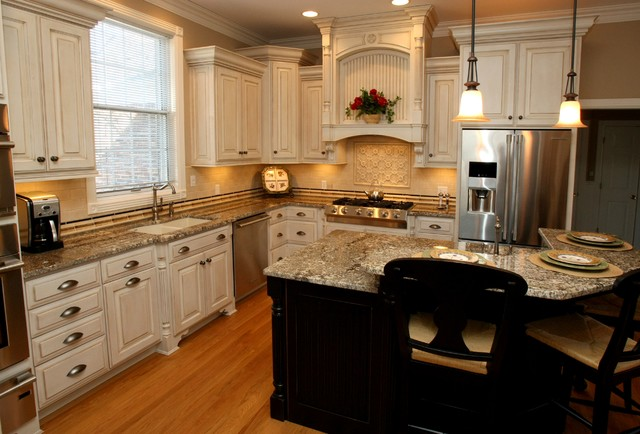 Cream Kitchen Cabinets With Black Appliances  How to Choose Cream