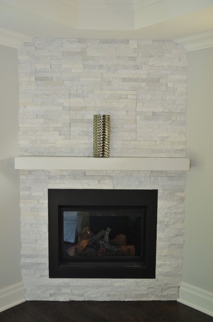 ledgestone wallcladding-Fireplace