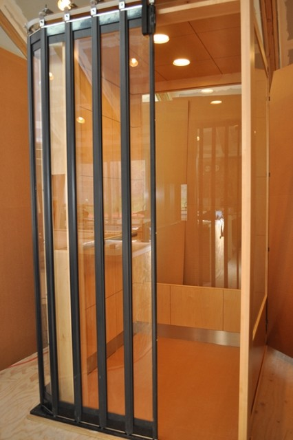 Residential elevator contemporary austin by home for Modern home elevators