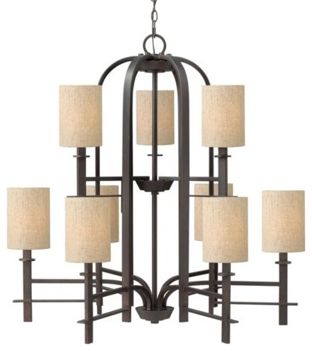 Sloan Two-Tier Chandelier contemporary-chandeliers