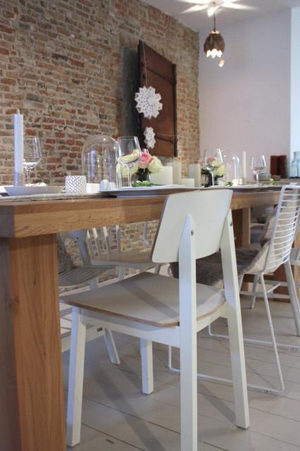 Tablescape Rustic Modern contemporary