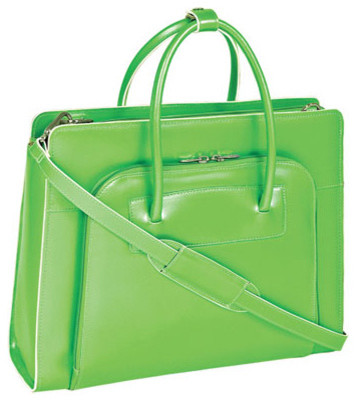 The Lake Forest Ladies Leather Briefcase contemporary-home-decor