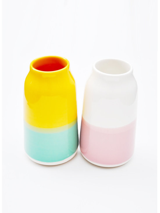 Color Gloss Vase -