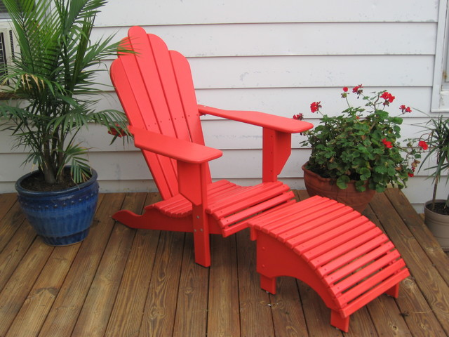 Adirondack chairs tropical-patio-furniture-and-outdoor-furniture