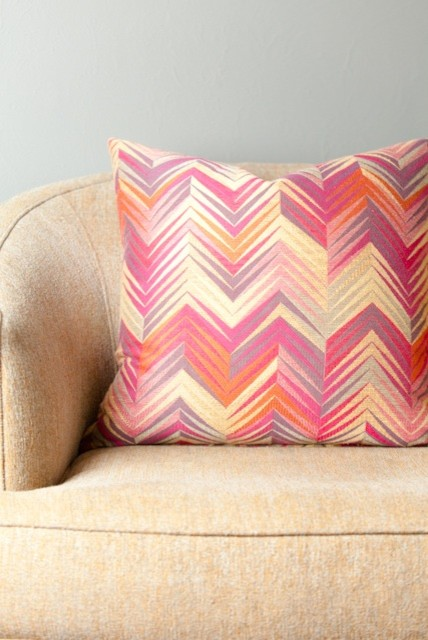 Ikat Decorative Throw Pillow modern-decorative-pillows