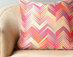 Ikat Decorative Throw Pillow modern pillows
