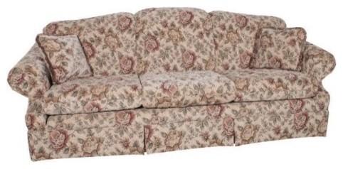 Charles Schneider Galilee Beige Fabric Sofa With Accent