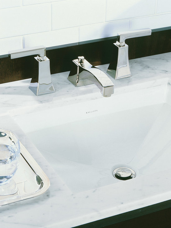 Original by Barbara Barry For Him Undercounter Basin - Balanced, beautiful and impeccably crafted, the architecturally inspired fixtures of the Barbara Barry Original collection set a tone of harmony and infuse the modern bath with timeless elegance. The Original collection elevates the bath and the dressing room to settings of subtle sophistication.