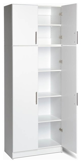 Elite Stacking Storage Combo Set contemporary-pantry-cabinets