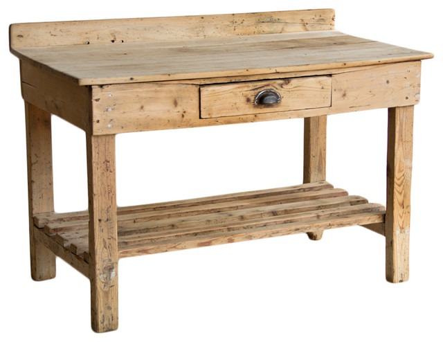 Victorian Rustic Potting Table - Potting Benches - calgary - by Uniquities Architectural ...
