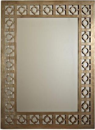 Circlet Lattice Mirror traditional-wall-mirrors