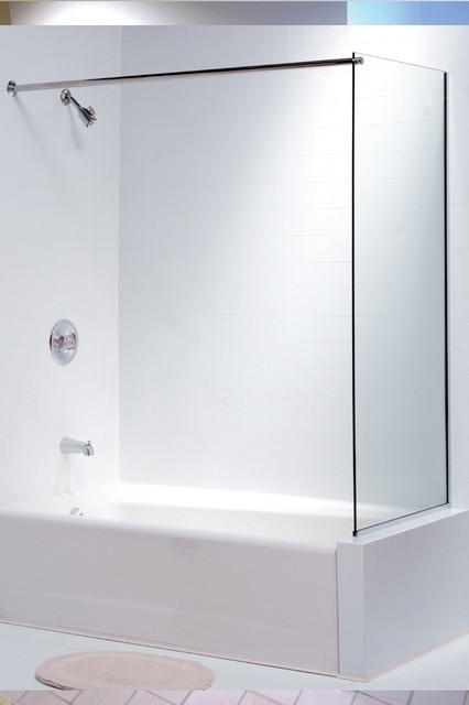 Oasis Tub Enclosure Spray Panel Contemporary Shower Stalls And Kits Boston By Oasis