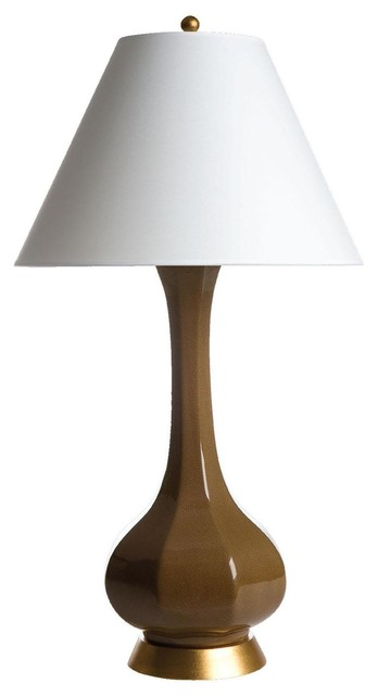 Bungalow 5 Christina Table Lamp in Brown traditional table lamps