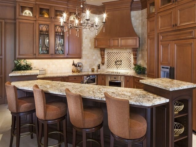 Exotic Granite Countertops Transitional Miami By New