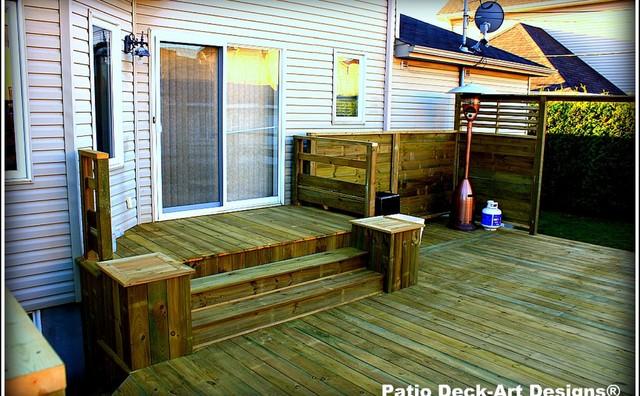 Patio & Decks contemporary-deck