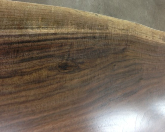 Live Edge Wood Countertop -