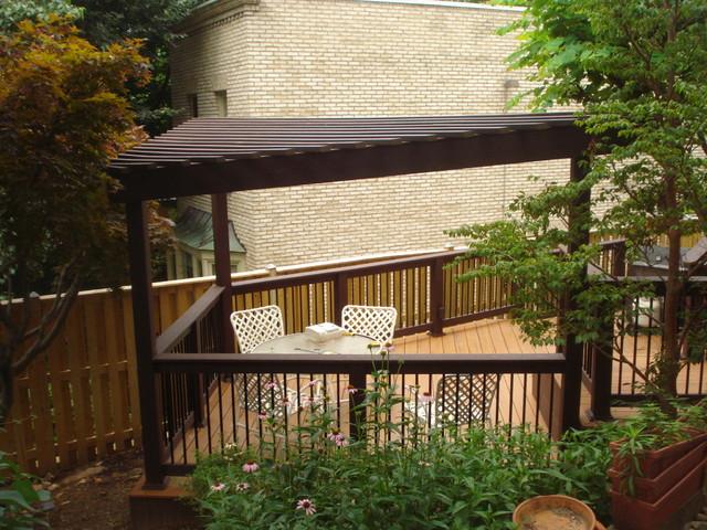 Triangle Pergola Designs for a Deck