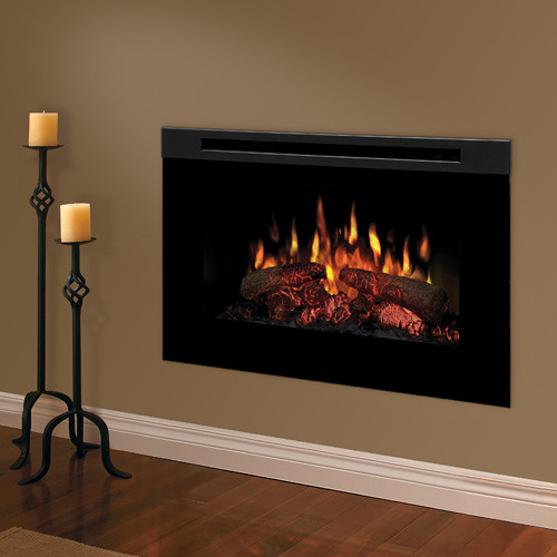 Dimplex 30 Inch Linear Electric Fireplace Insert Bf9000 Modern Indoor Fireplaces Other