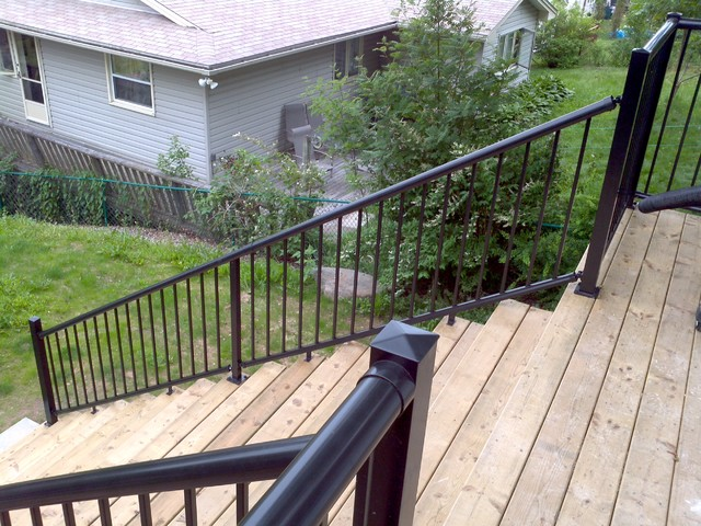 Century Aluminum Deck Railing Modern Outdoor Products Seattle By Cent