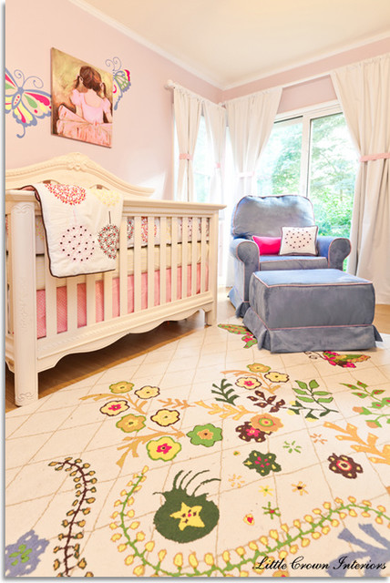 Pink Butterfly Nursery  kids