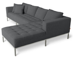Gus Modern Carter Sectional Sofa modern sectional sofas