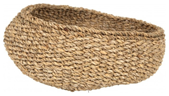 Water Hyacinth Basket contemporary-baskets